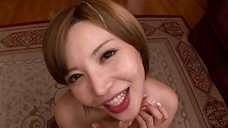 Hot POV oral compilation with Japanese milfs