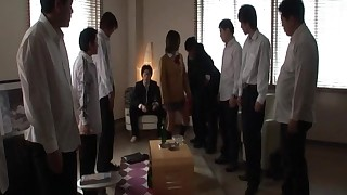 Japanese schoolgirl in a hot sex movie